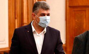 Presedintele PSD Marcel Ciolacu acuza parlamentarii care au contribuit la mentinerea in functie a Guvernului Orban