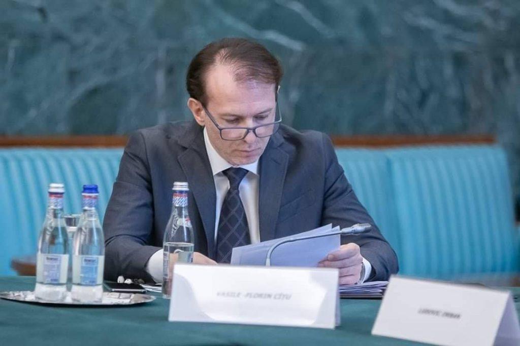 ministrul Finantelor Publice, Florin Citu