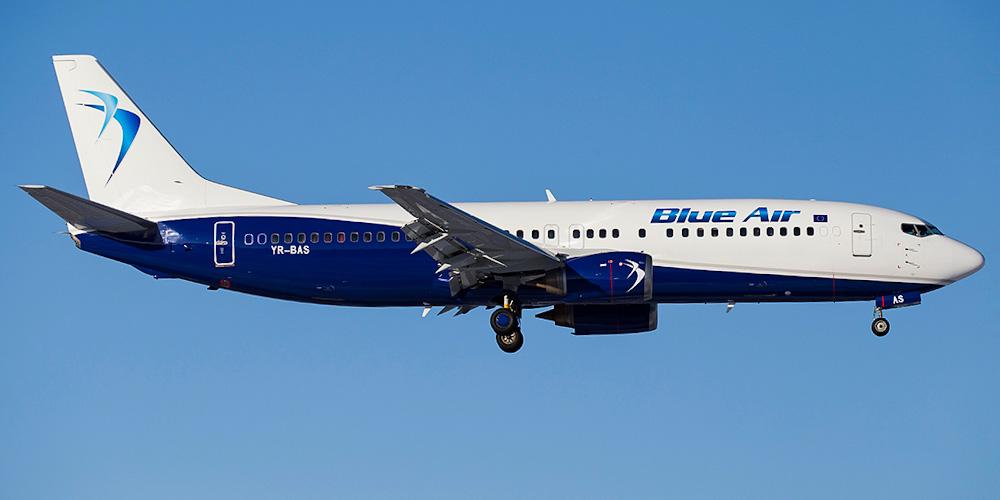 Peste 300 milioane lei pentru Compania Aeriana Blue Air.
