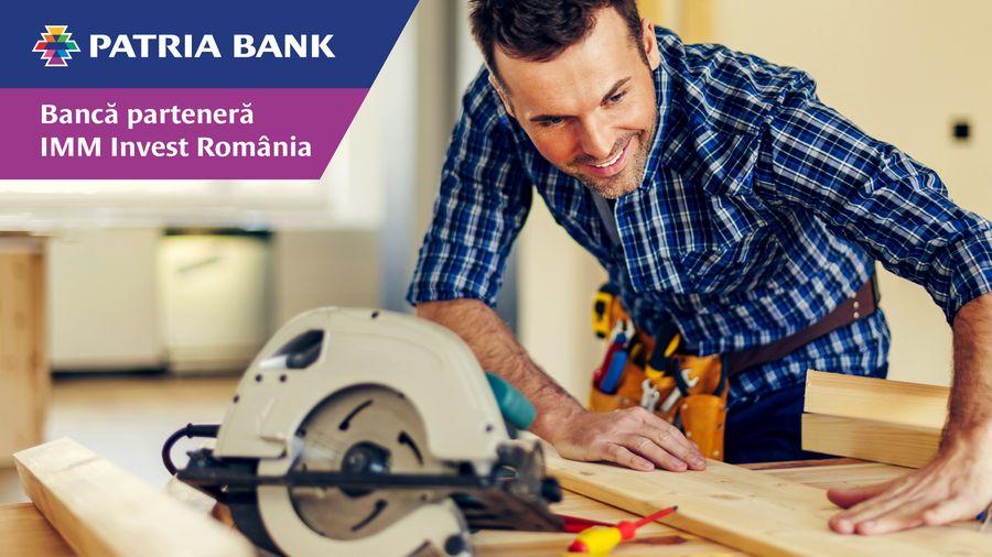 Plafon IMM Invest dublu la Patria Bank