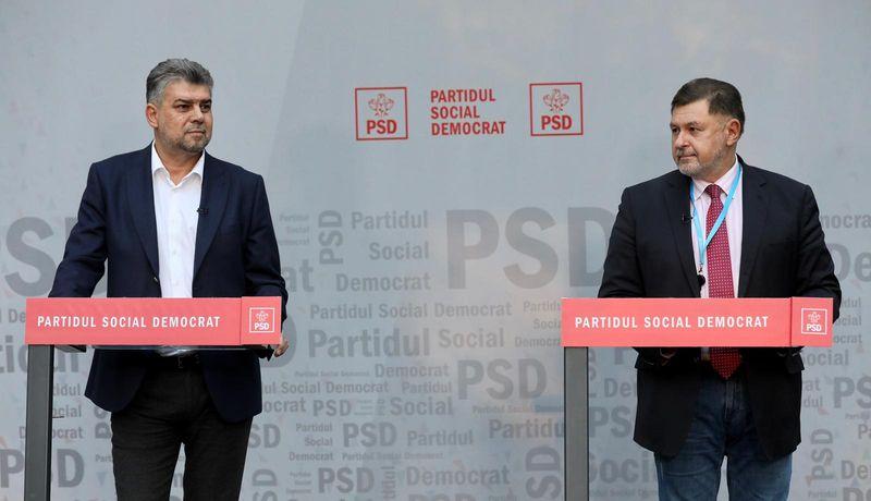 Medicul Alexandru Rafila (foto dreapta) ar putea fi propunerea PSD pentru functia de premier al Romaniei
