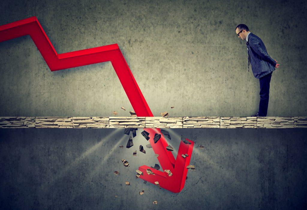 criza economica recesiune declin