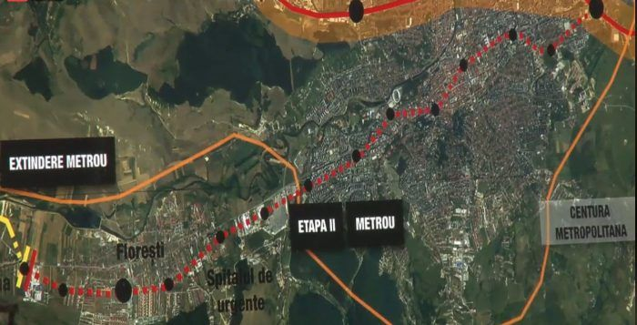 se construieste metrou la cluj